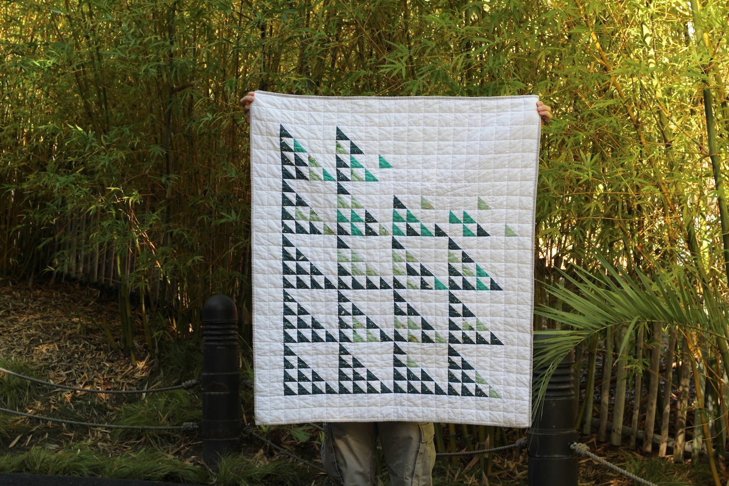 Andreas Canyon - 39x46 | 2018, Quilt 022Fly Away by Suzy Quilts