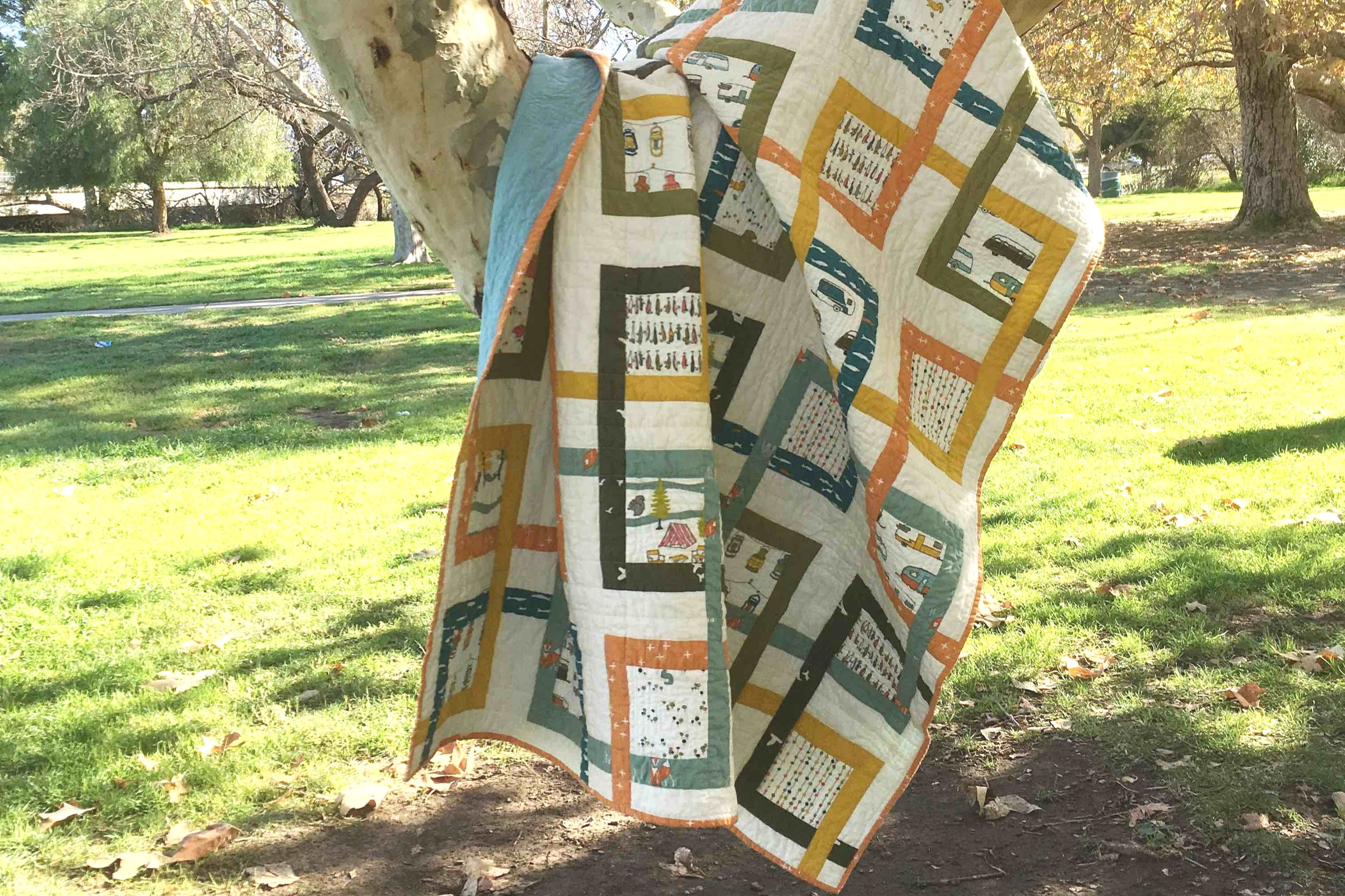 Topanga - Size Unknown | 2018, Quilt 007Grand Junction by Lunden Designs