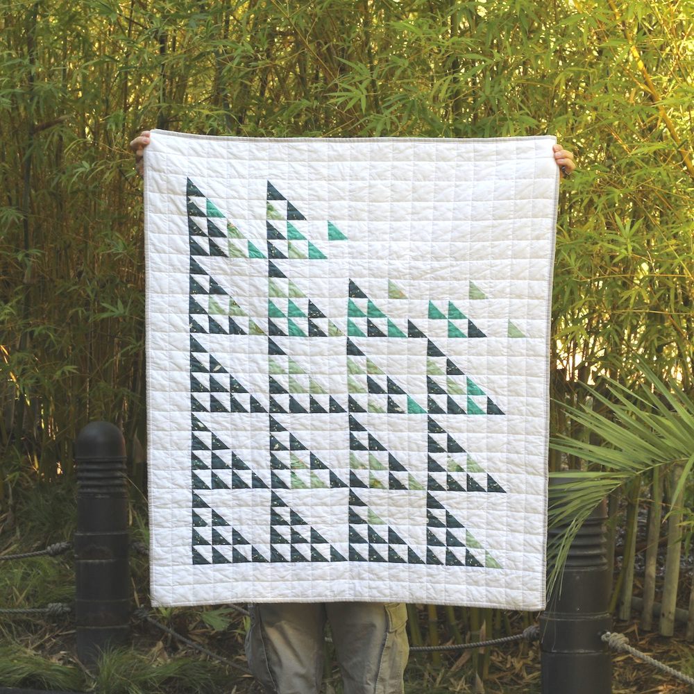 ANDREAS CANYON 39 x 46 | 2018, Quilt 022 Fly Away by Suzy Quilts