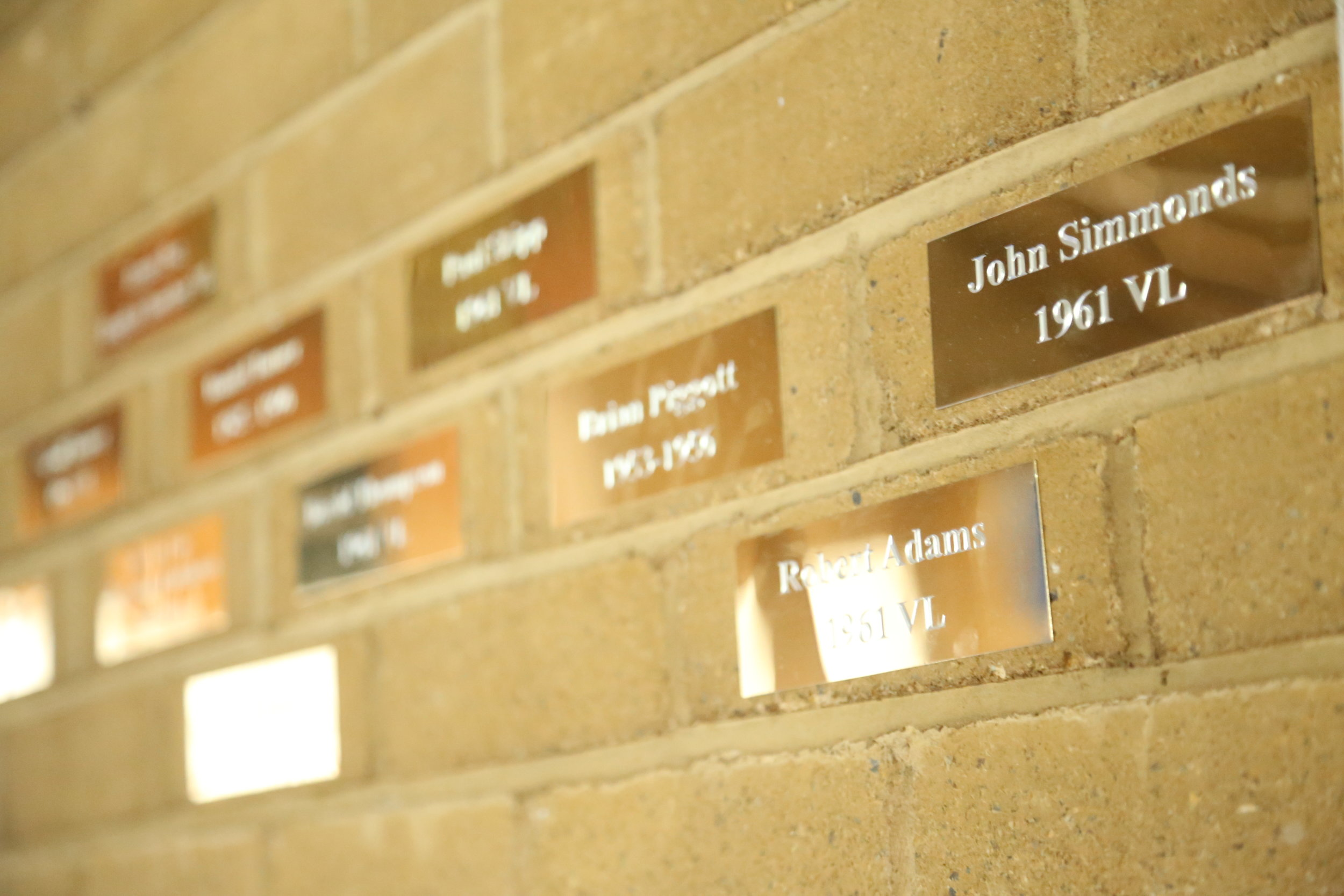 Buy A Brick Scheme Thomas Alleyne Academy Community Hall