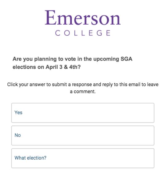 Emerson Involved.vote survey