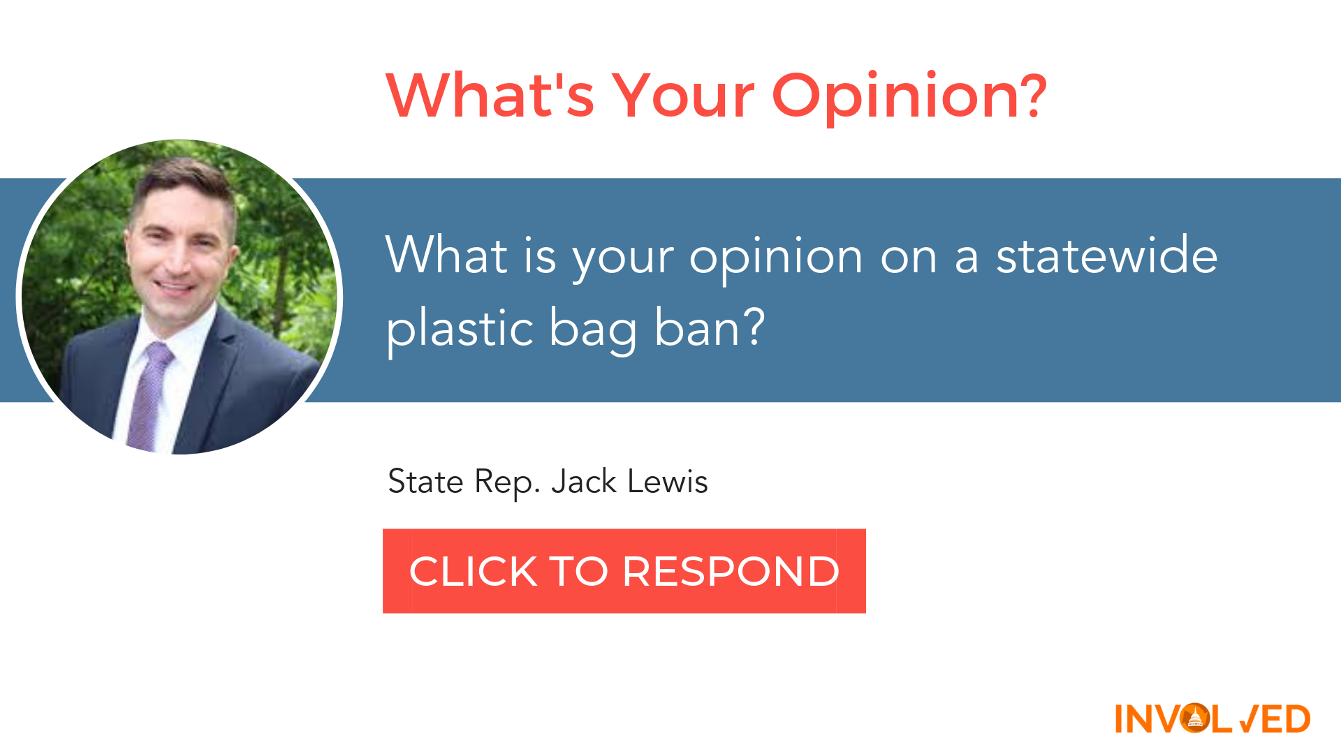 Rep Jack Lewis poll