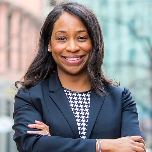 """Andrea Campbell, Boston City Council President - """"Big, big thank you to Involved for helping us gather data informed our teams on what the community wants to see in their neighborhoods!"""""""