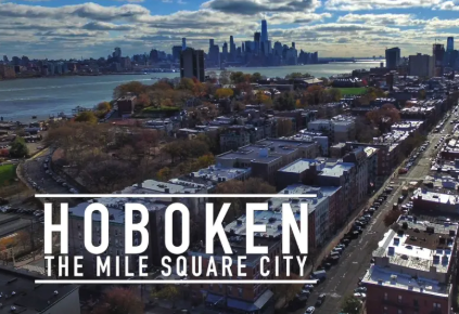 Over 55,000 people live in Hoboken, New Jersey. -