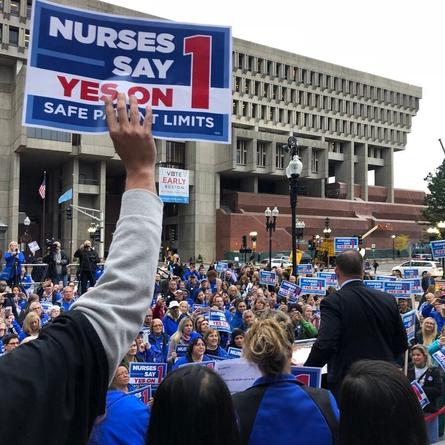 """Massachusetts Nurses Association - """"We would have been happy with 10% of the responses we received with Involved."""""""
