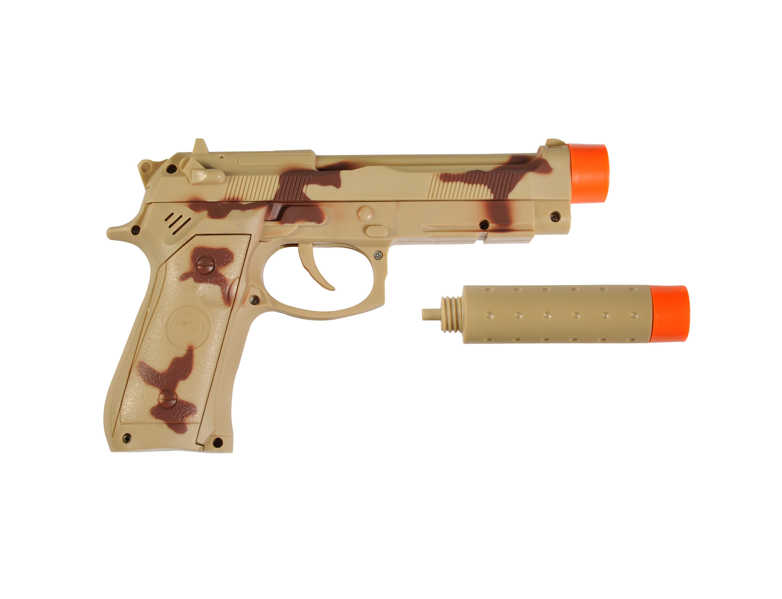 Maxx Action 9mm Toy Pistol with Silencer