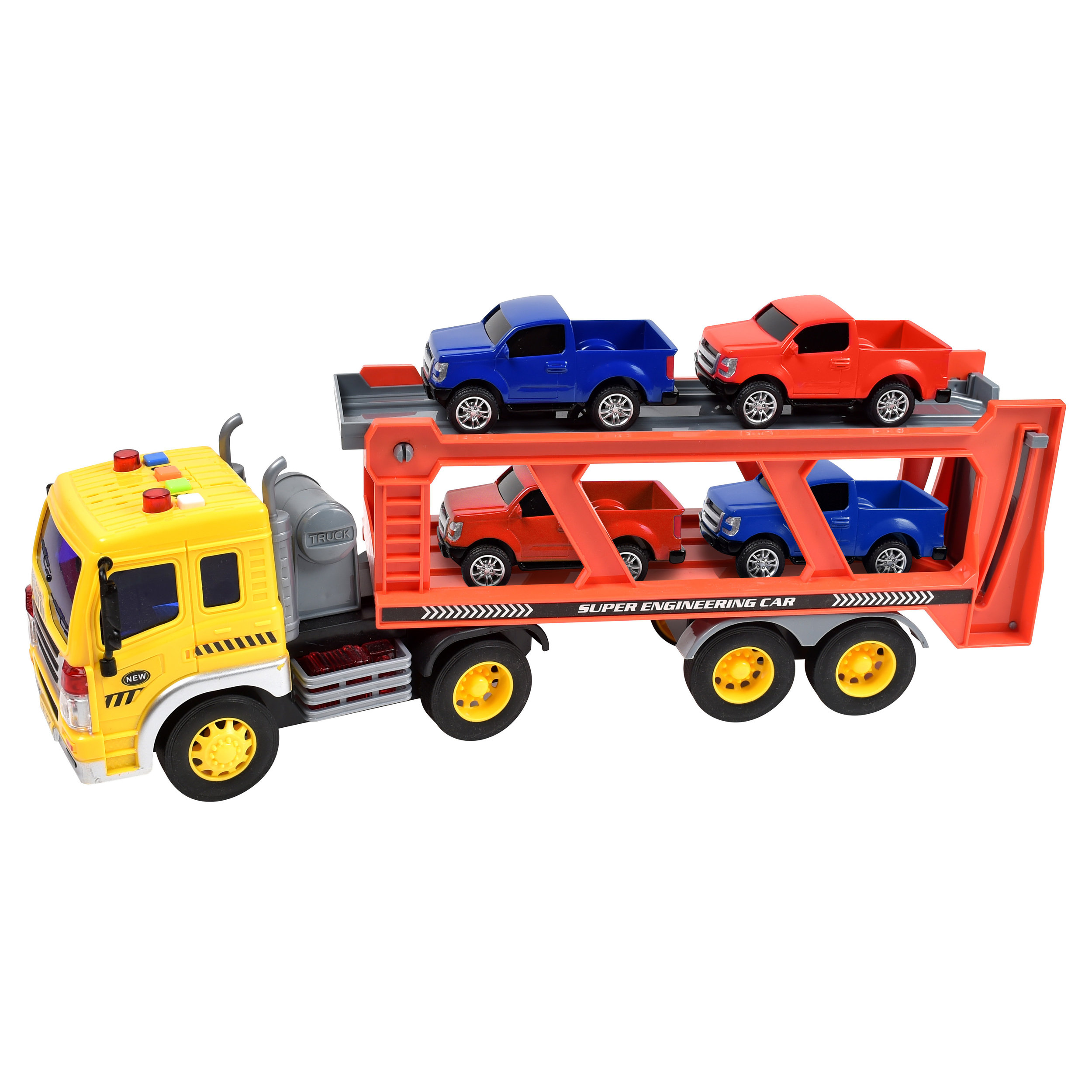 Maxx Action Long-Haul Vehicle Transport Playset