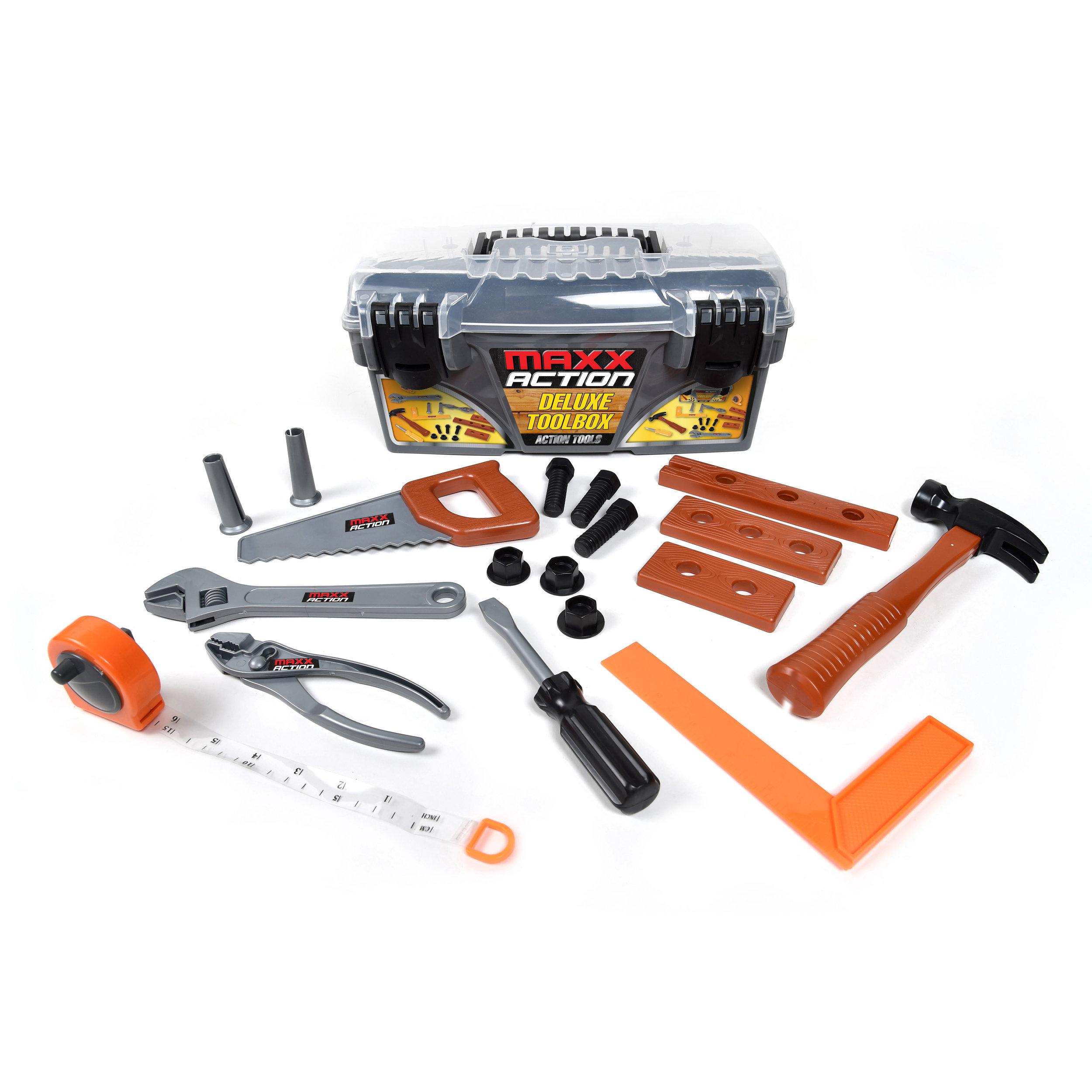 19 Piece Deluxe Tool Box
