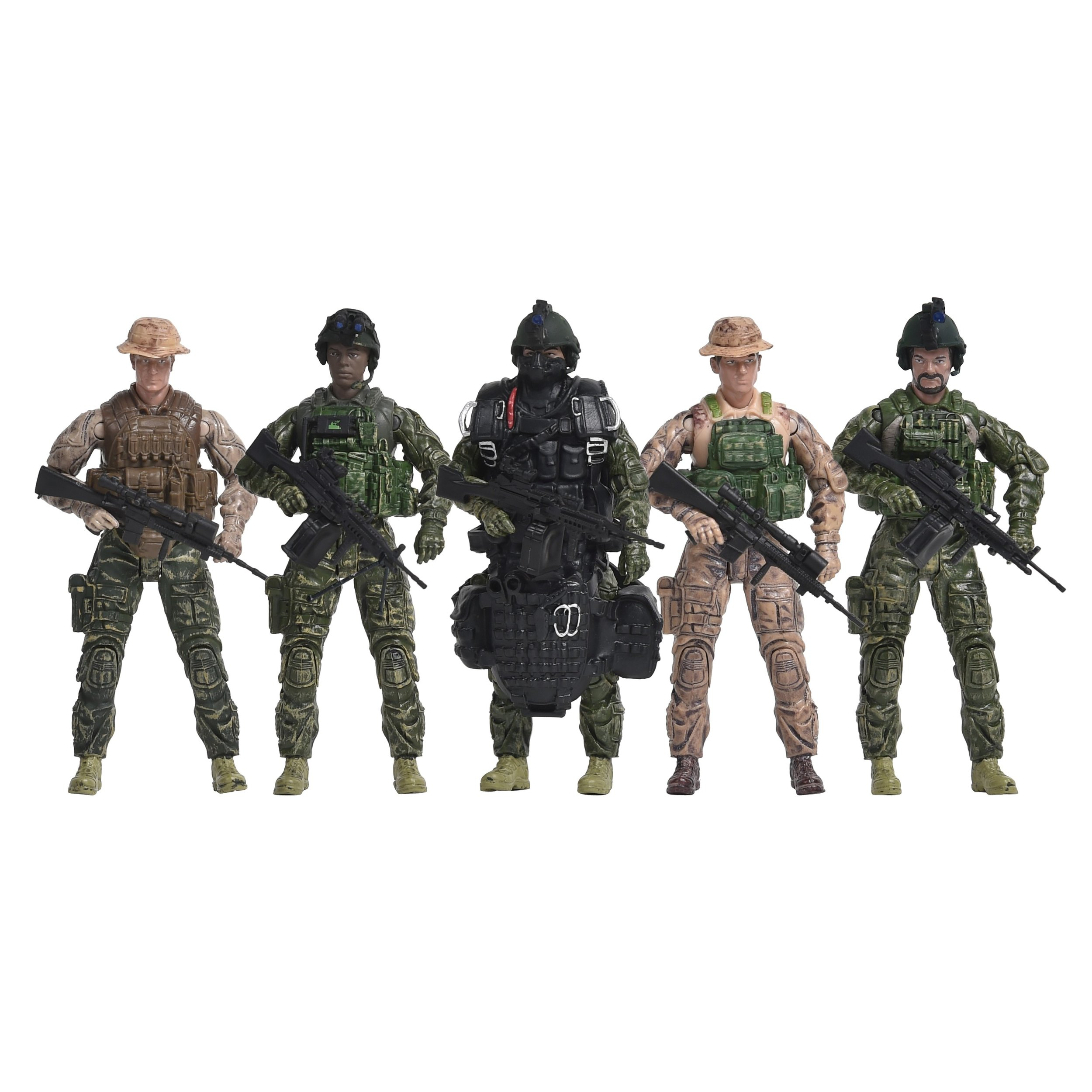 Elite Force Navy Seals 5 Pack Figures
