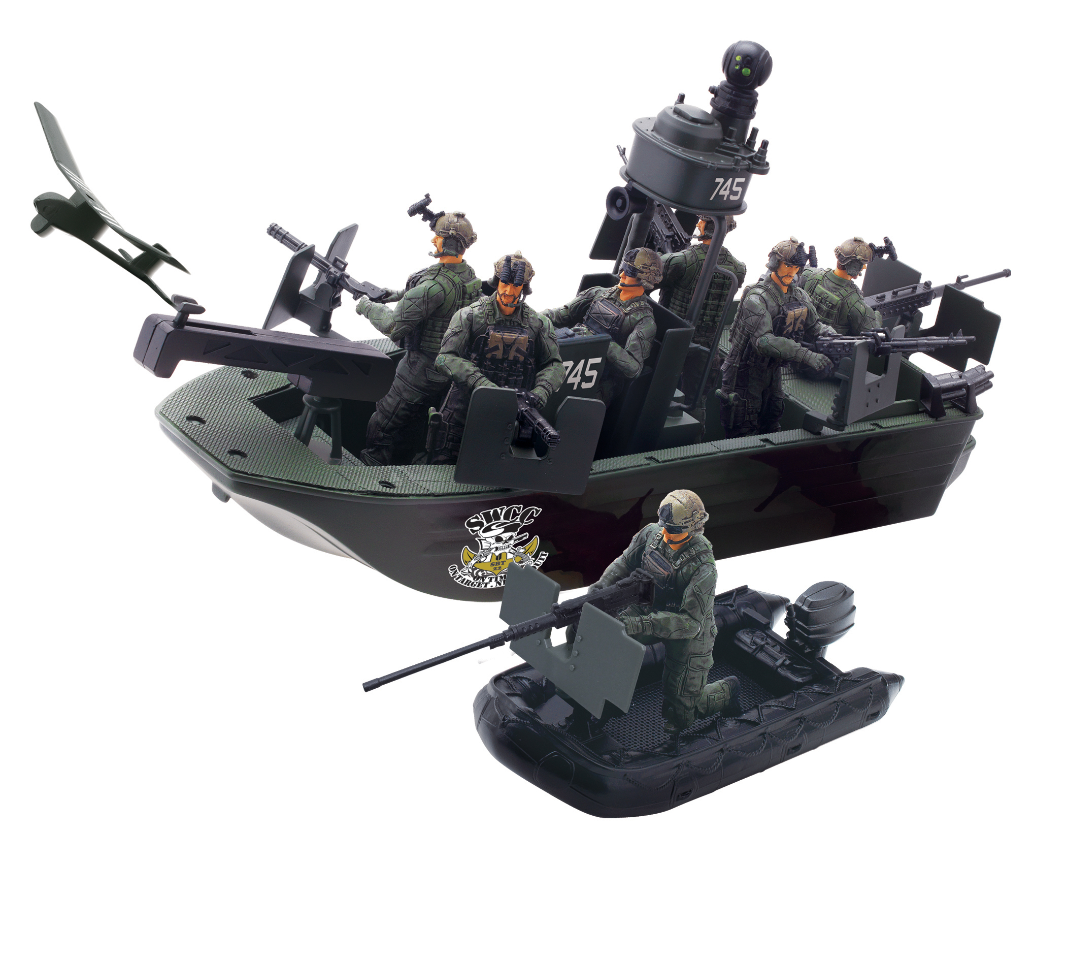 Elite Force Naval Special Warfare Gunboat