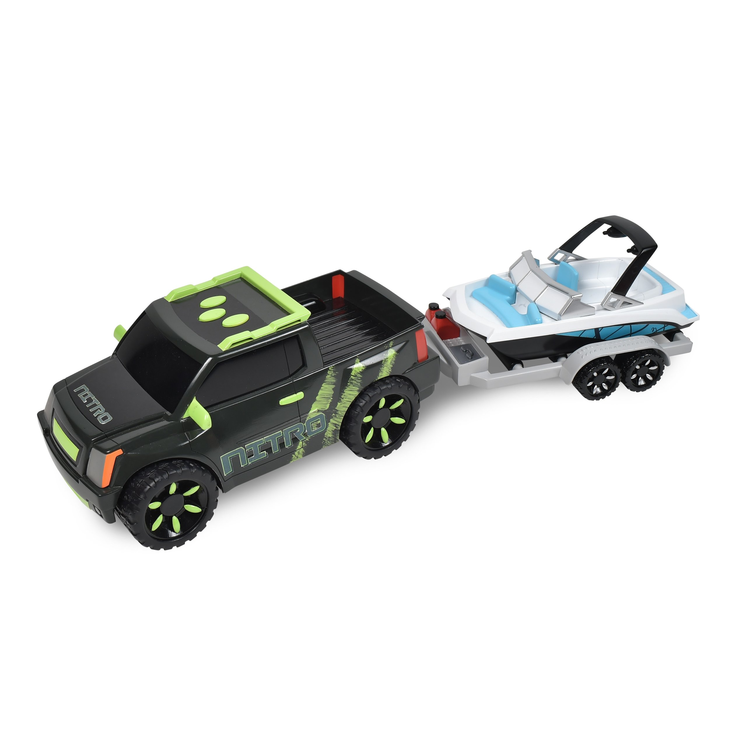 Maxx Action Pickup Truck with Trailer