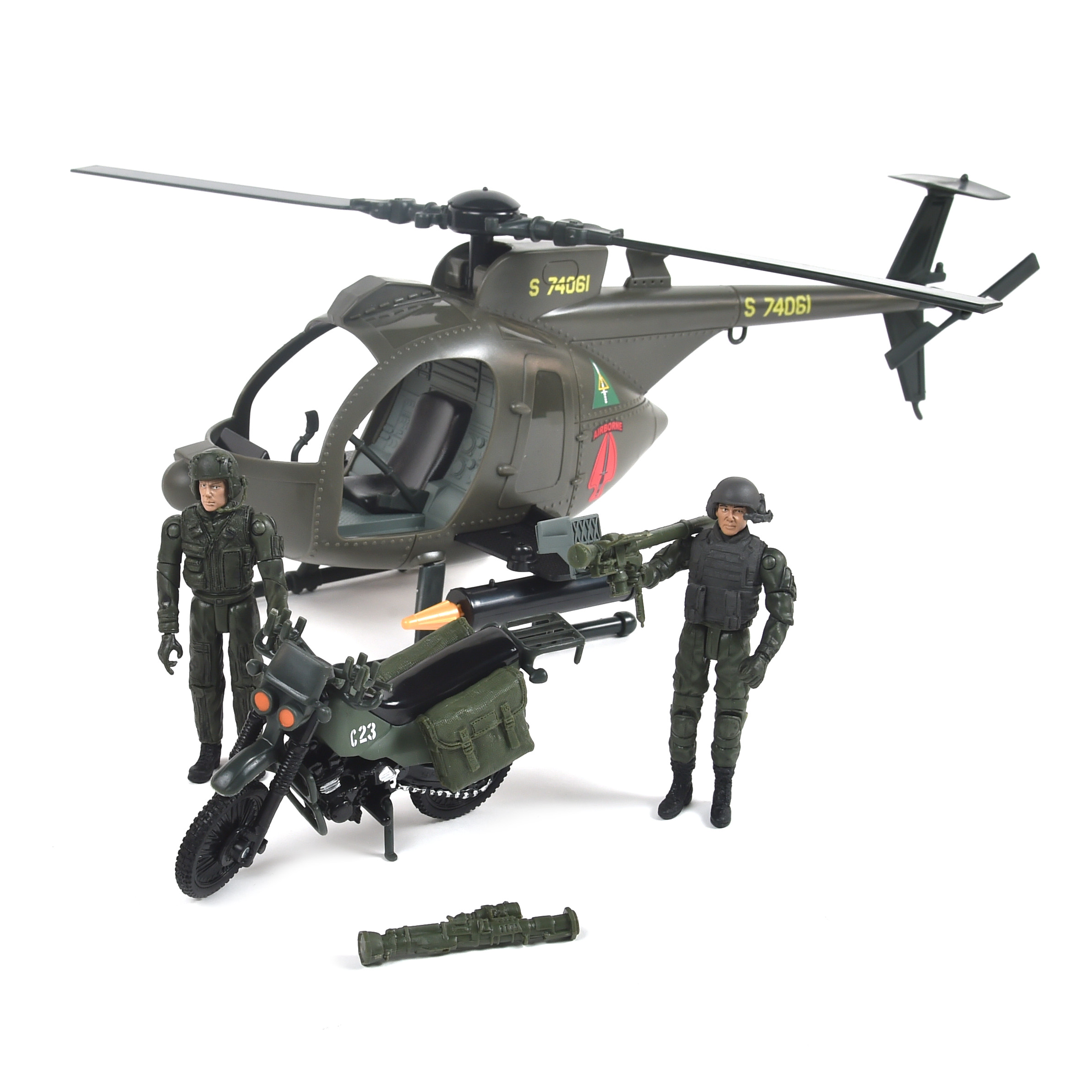 Elite Force Army Strike MH-6 Spec Ops Littlebird