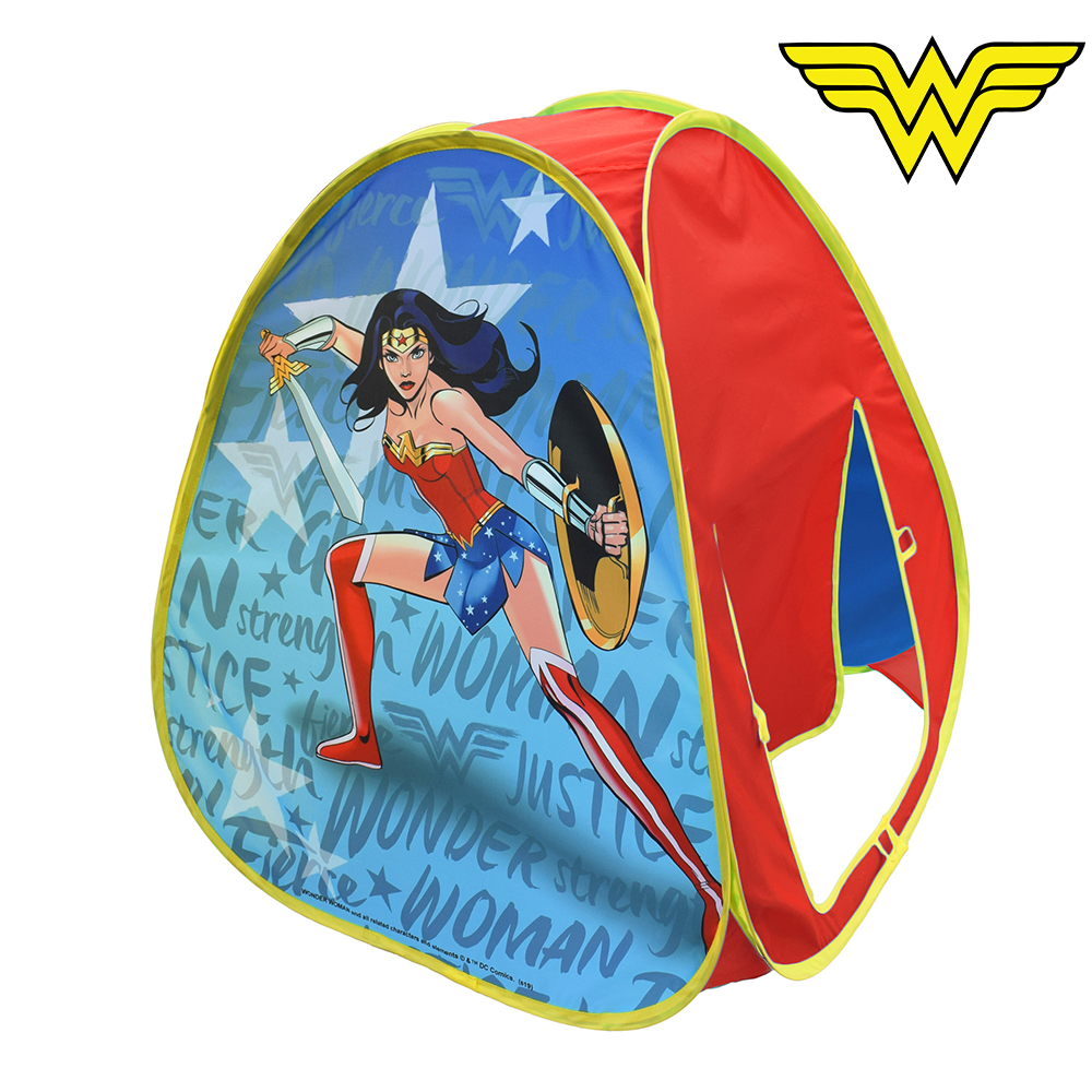 Wonder Woman Pop Up Play Tent