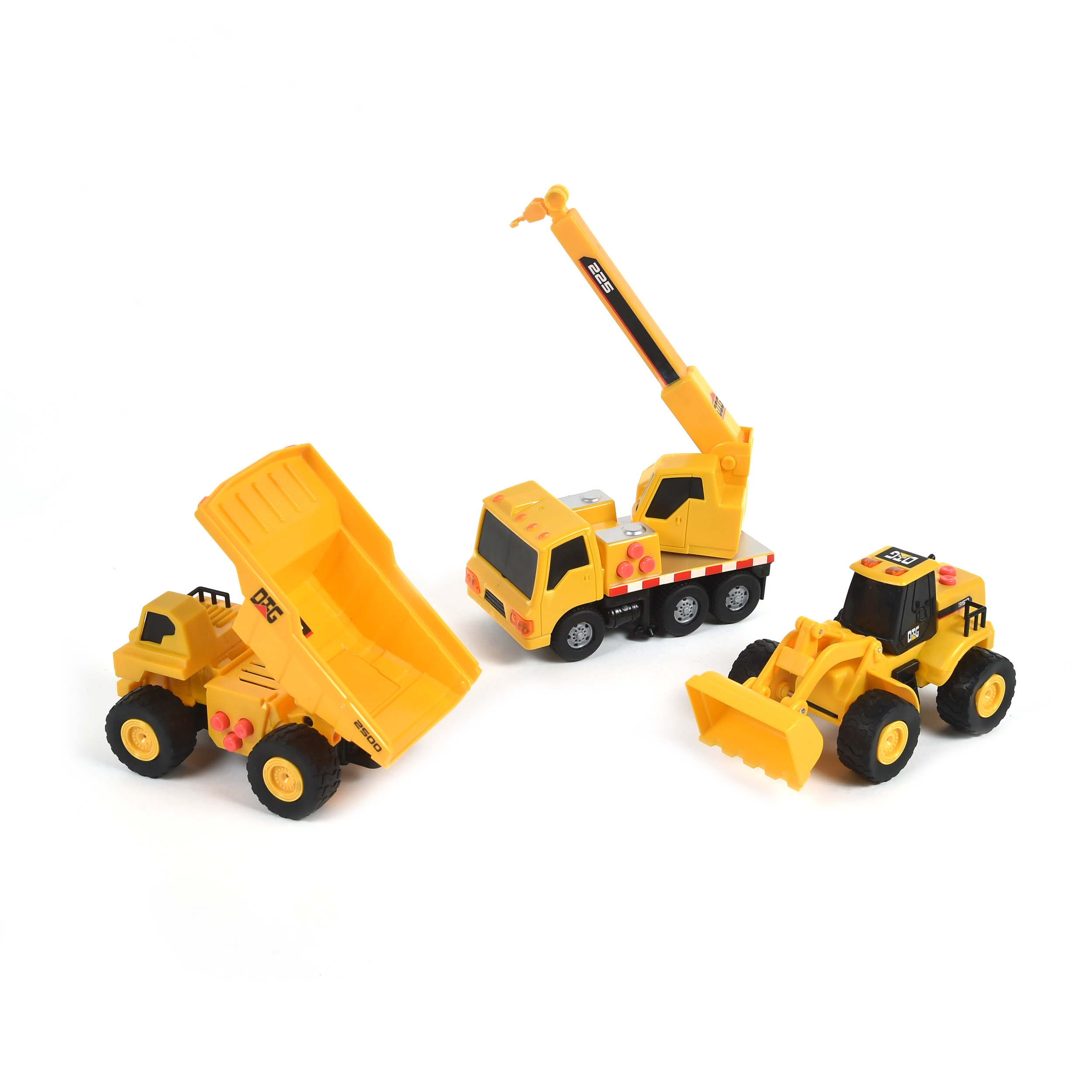 Mini Construction Series Vehicles 3-Pack