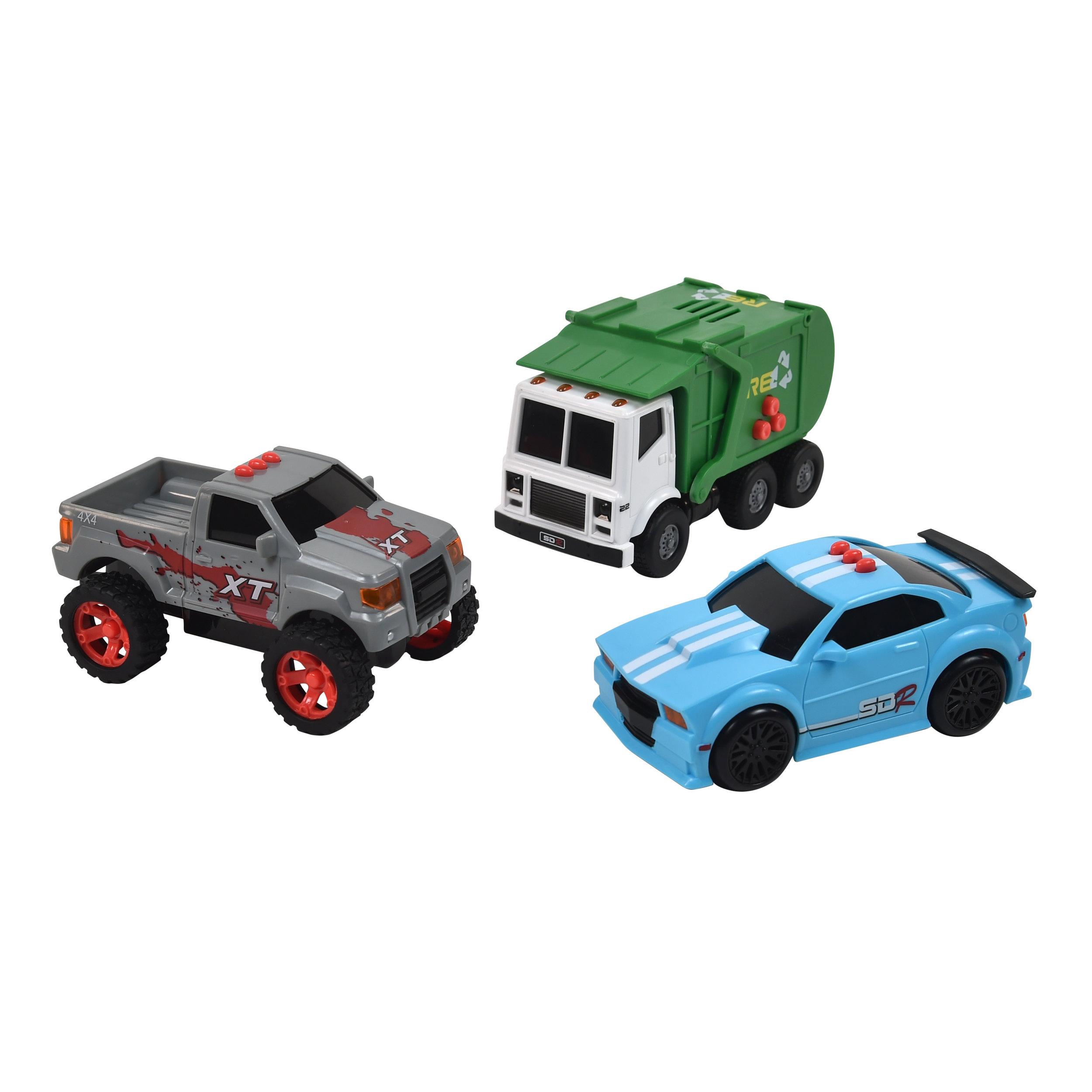 Mini City Series Vehicles 3-Pack