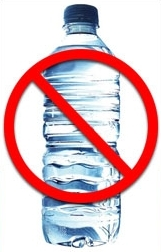 Don't Drink Bottled Water - Why pay for water that comes virtually free from your tap?. In countries like Canada and the US, tap water is totally safe. Often it's more carefully monitored for harmful substances, and therefore safer, than the water sold in bottles.Bottled water companies suck their water out of land that belongs to all of us. They deplete natural sources and interfere with a region's aquifers. Then they sell it back to us and at a colossal profit. What's next, paying for bottled air?Instead of buying bottled water, buy a re-usable stainless steel bottle, fill it up with tap water and take it with you in your knapsack or satchel. At restaurants, ask them for tap water instead of bottled.You'll also be helping reduce the production of plastic bottles, which are choking recycling facilities and landfill sites.And you'll be saving yourself money too!