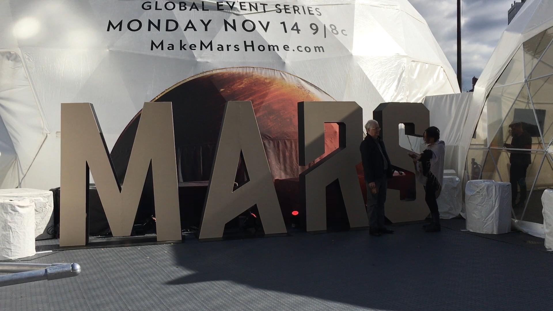 NAT GEO MAKE MARS HOME EVENT