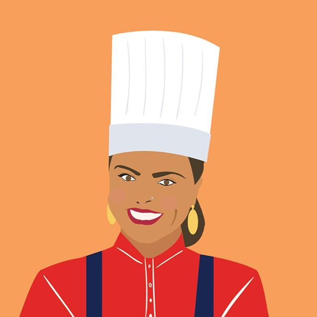 "👩🏽‍🍳Introducing the Desi Dream Team👩🏽‍🍳 MANEET CHAUHAN | NASHVILLE, TENNESSE  Prominent TV personality, active philanthropist, and James Beard Award of excellence winner. Founder, Morph Hospitality Group. Judge, Food Network's Chopped . ""When I first came to the States I was shocked to see how often Indian food was misrepresented. It then became my crusade to showoff the true beauty of the cuisine. Now I'm excited to see the new wave of passionate and talented chefs who are bringing Indian cuisine to the forefront in America. Being relatively new to The South, I feel the souls of Indian and Southern food are the same and having the opportunity to hang out with these rockstar chefs was the most enticing part about this dinner!! Proud to be ""Brown in the South"" y'all!"" . . . . . #browninthesouth"