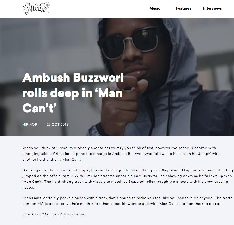 SNIFFERS X AMBUSH -