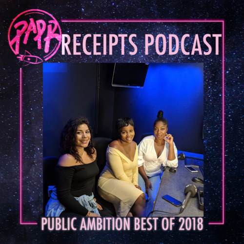 - Podcasts have dominated the entertainment industry this year so it's a special moment when you find one that captivates and resonates with you. You know a podcast is cultivating when you forget you're listening to a group of strangers through your computer and feel like you're literally having a Friday night in with friends. That's the feeling we get from The Receipts Show! One of their most prominent moments of 2018 was their partnership with BBC Radio 1xtra, opening up the show to bigger, more diverse audiences. The Receipts continue to set levels and their journey has been brilliant this year, we're all rooting for them. We can't wait to witness their growth and elevation in 2019.