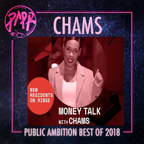 """- Chams has carved herself out as a multimedia boss! She is a successful entrepreneur, talk-show presenter and talent agent, this year she added radio host onto her resume with her new show on Rinse FM. She is one of the most prominent faces of women empowerment in London, having founded her business """"Face for Music"""" before a lot of us were even considering entrepreneurship as an option. Her new """"Money Talks"""" show on Rinse FM covers all things angel investment, money-making and pitching techniques. Chams is set to inspire a whole lineage of ambitious business-minded individuals."""