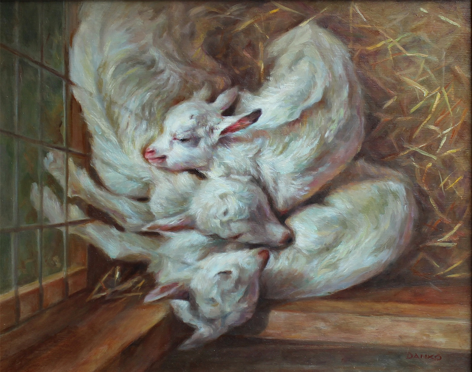 Danko Joyce,The Goat Huddle, oil,16x20,$1200.jpg