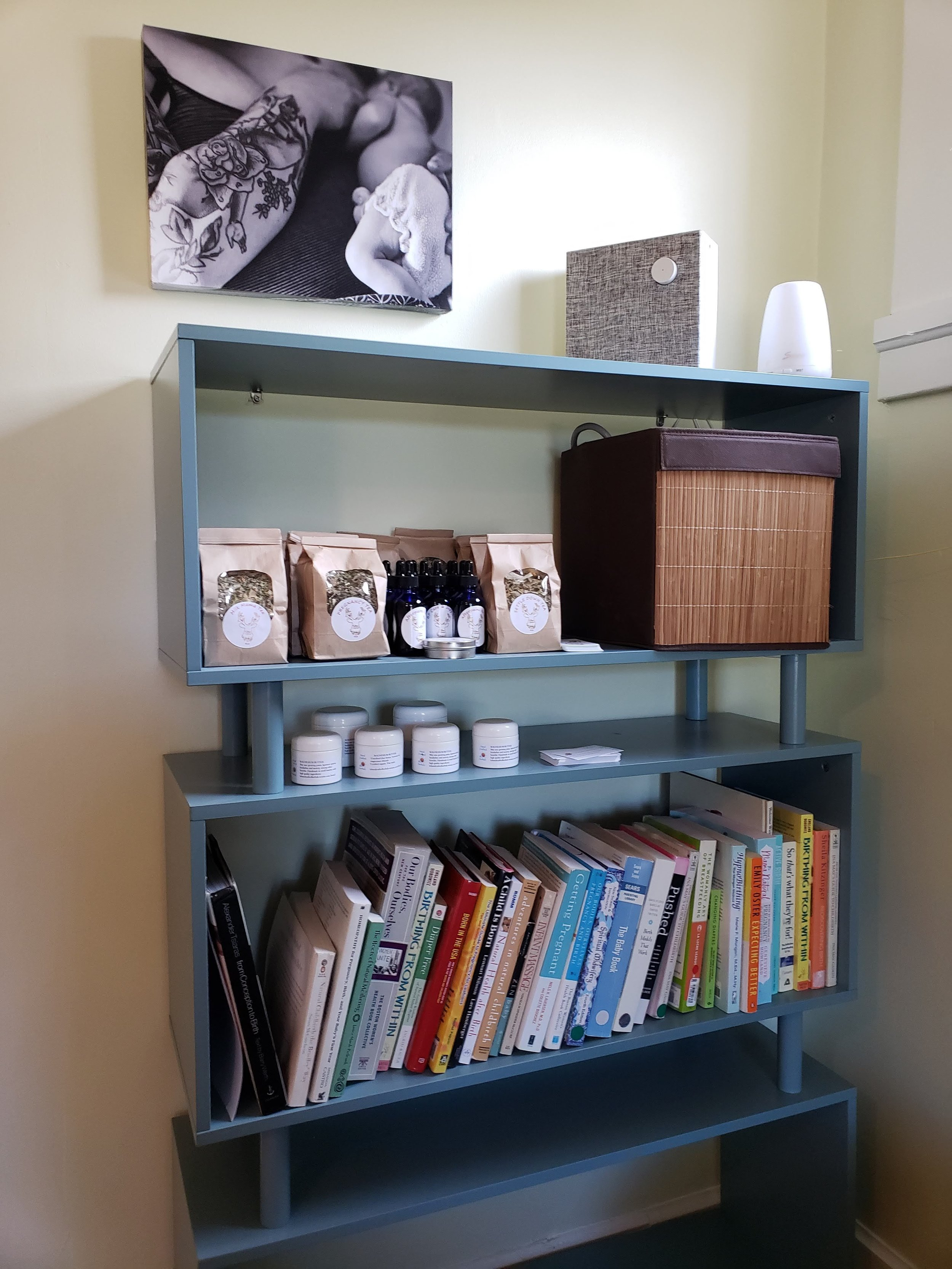 Lending library and herbs