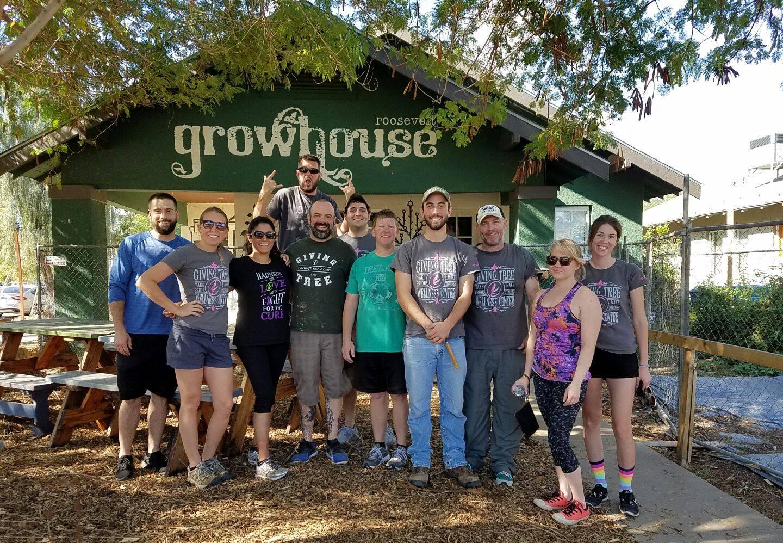 ROOSEVELT Growhouse - 2016