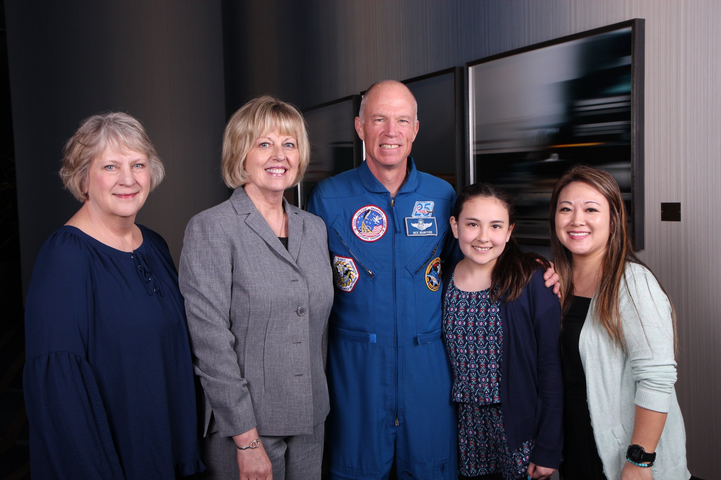 - IJO Conference Houston, Texas with guest speaker Astronaut Richard Searfoss