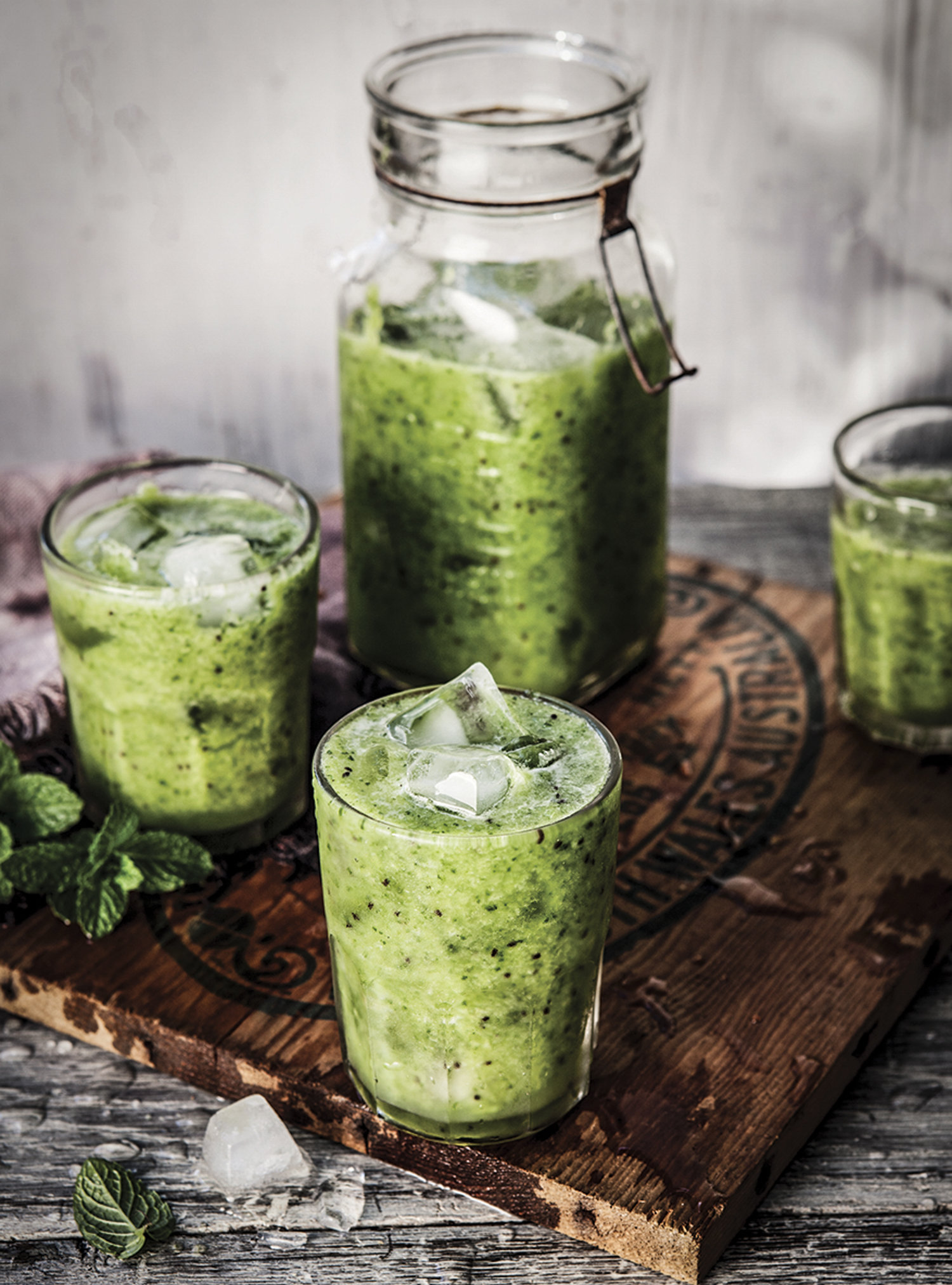 Green Power Bliss Smoothie