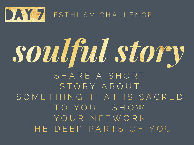 share a soulful story - Share a