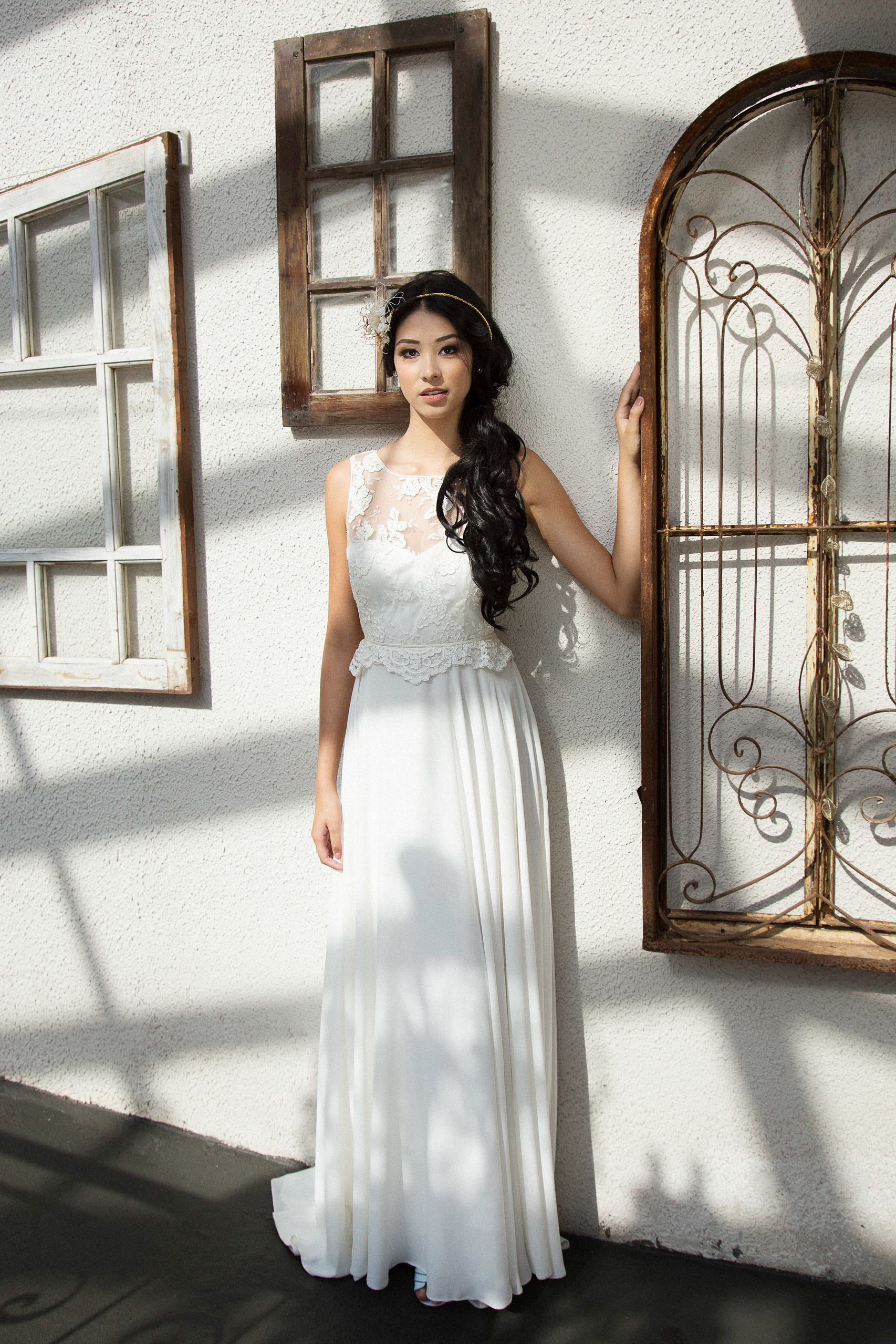 Copy of Vestido Noiva Leve Renda Casamento Praia Campo