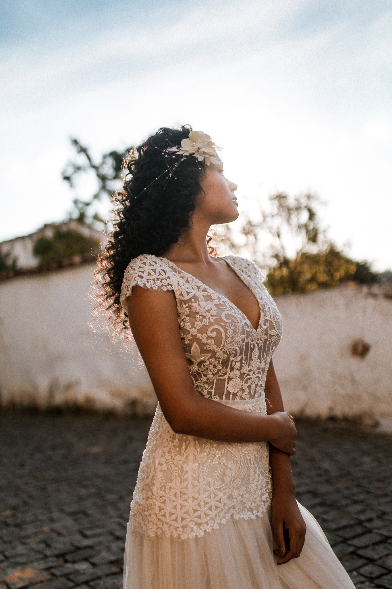 Vestido Noiva Leve Renda Casamento Praia Campo