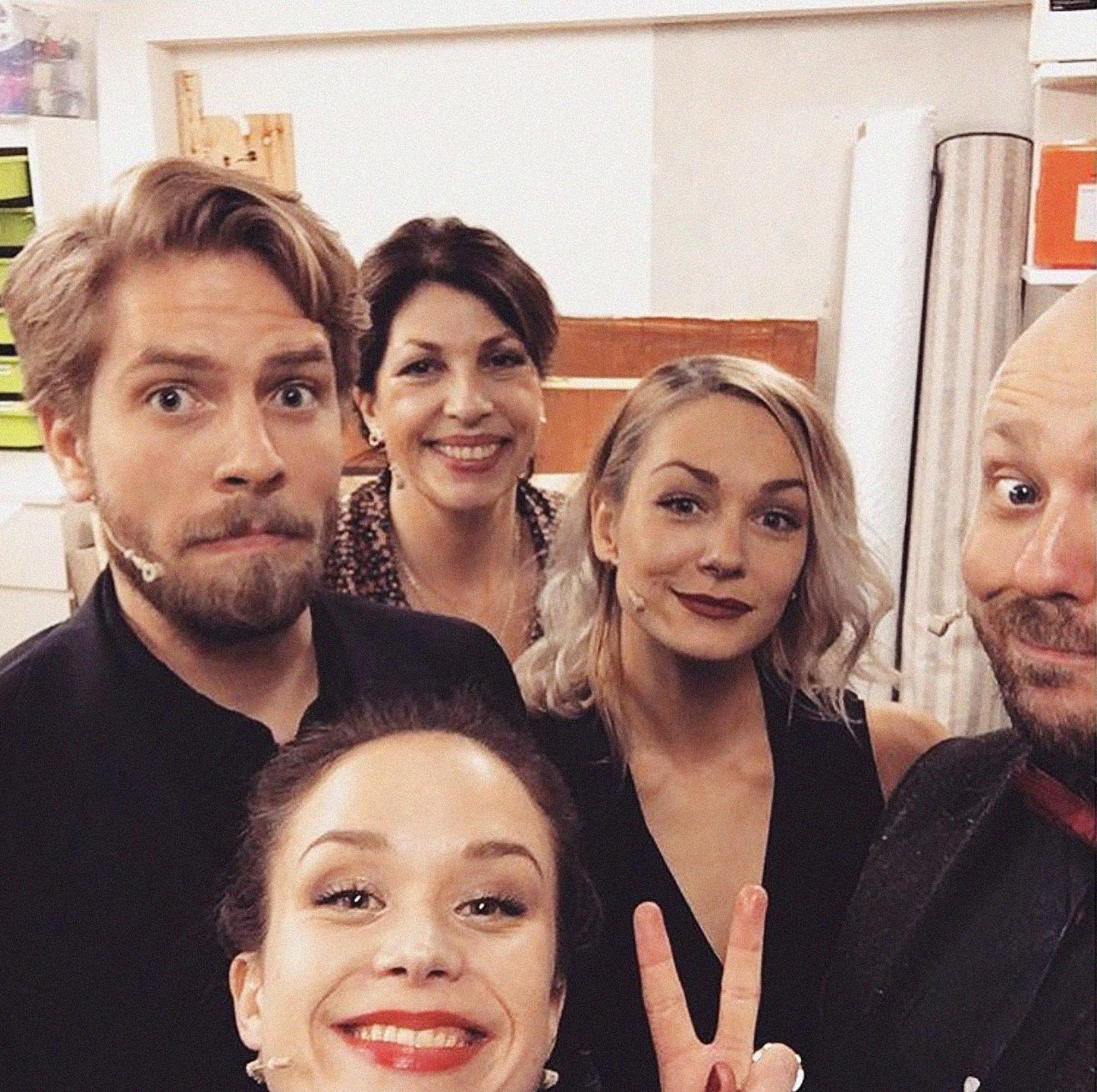 Bilde fra Det Andre Teatret lånt fra   @camillafrey på Instagram