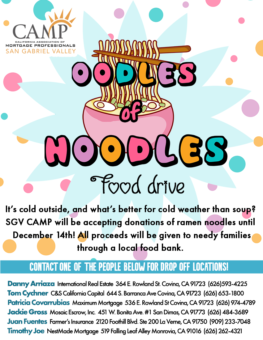Oodles of Noodles Food Drive