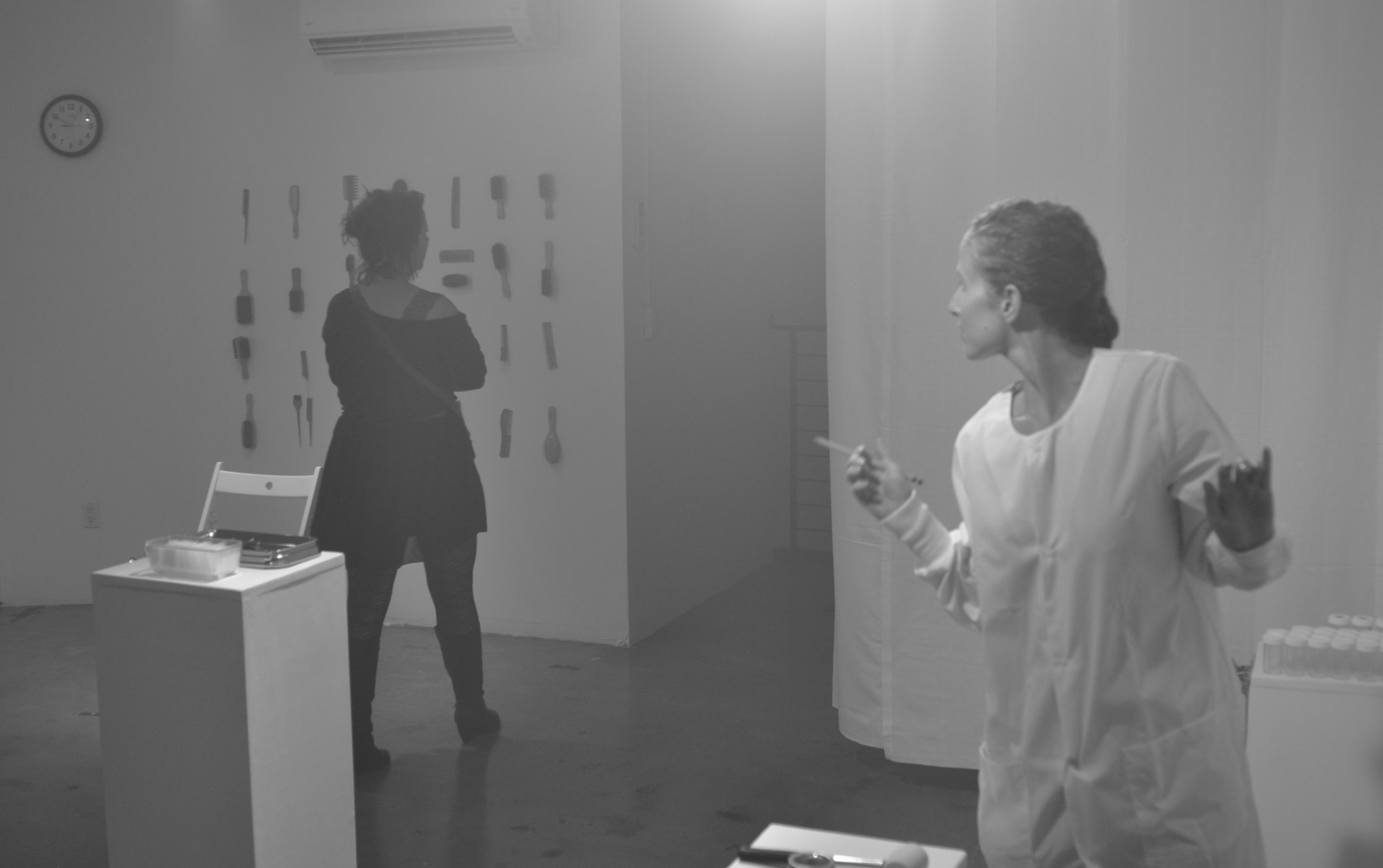Public Safety, 24 hour performance by Lital Dotan (2012)