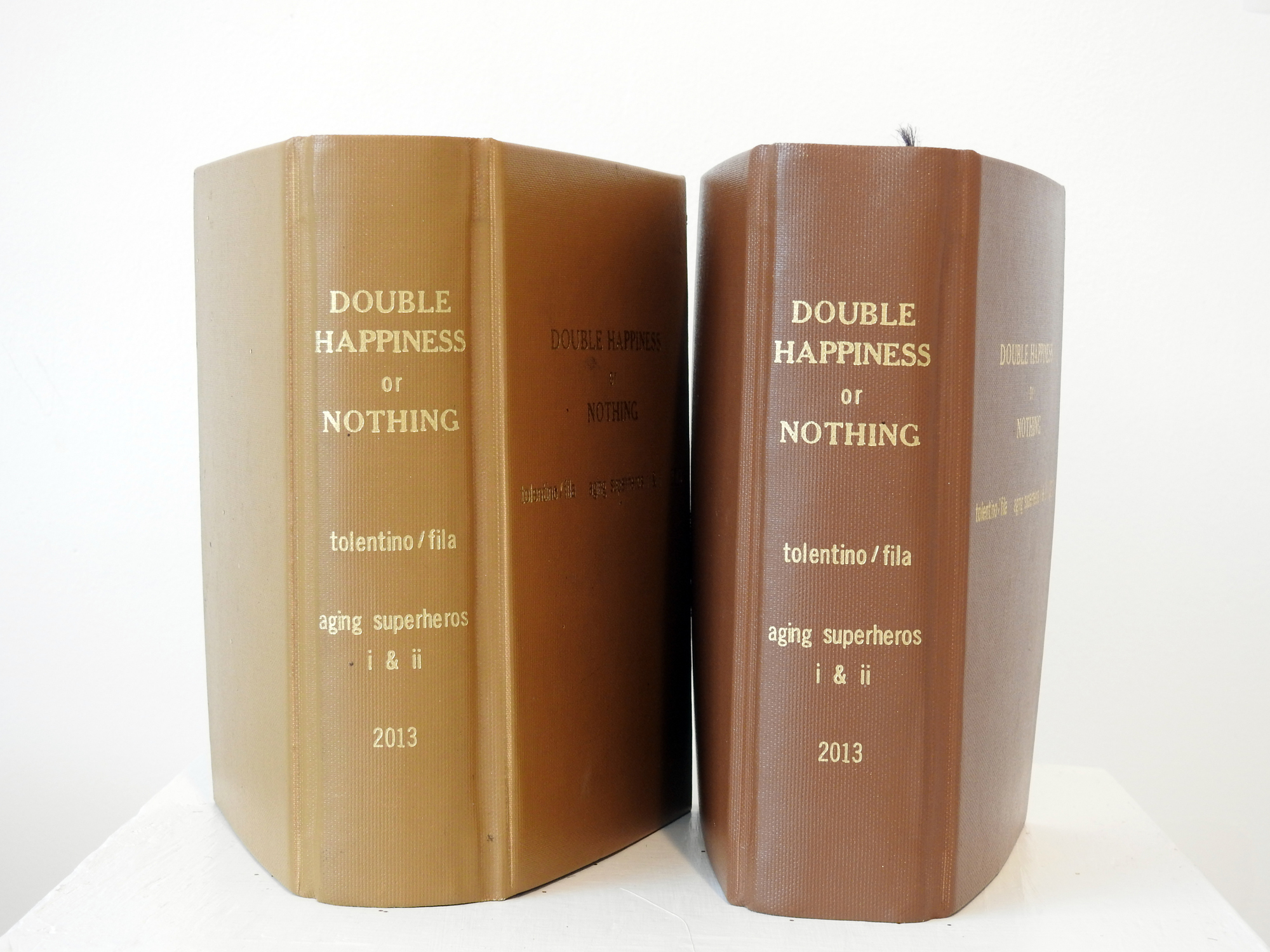DOUBLE HAPPINESS or NOTHING, 2013 by Julie Tolentino with Stosh Fila aka Pigpen