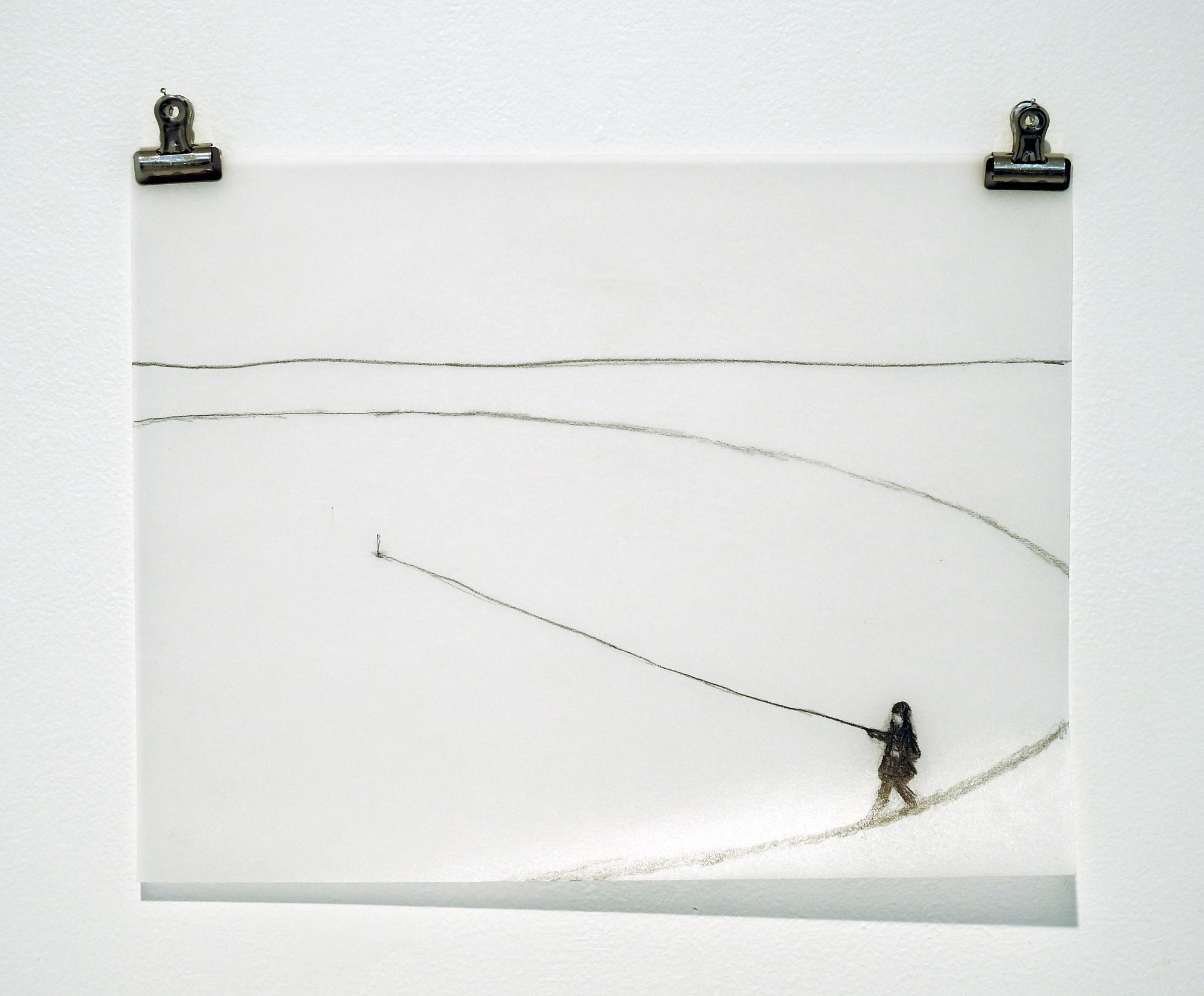 Compass, Maria Jose Arjona (Pre-performance sketch, 2009)