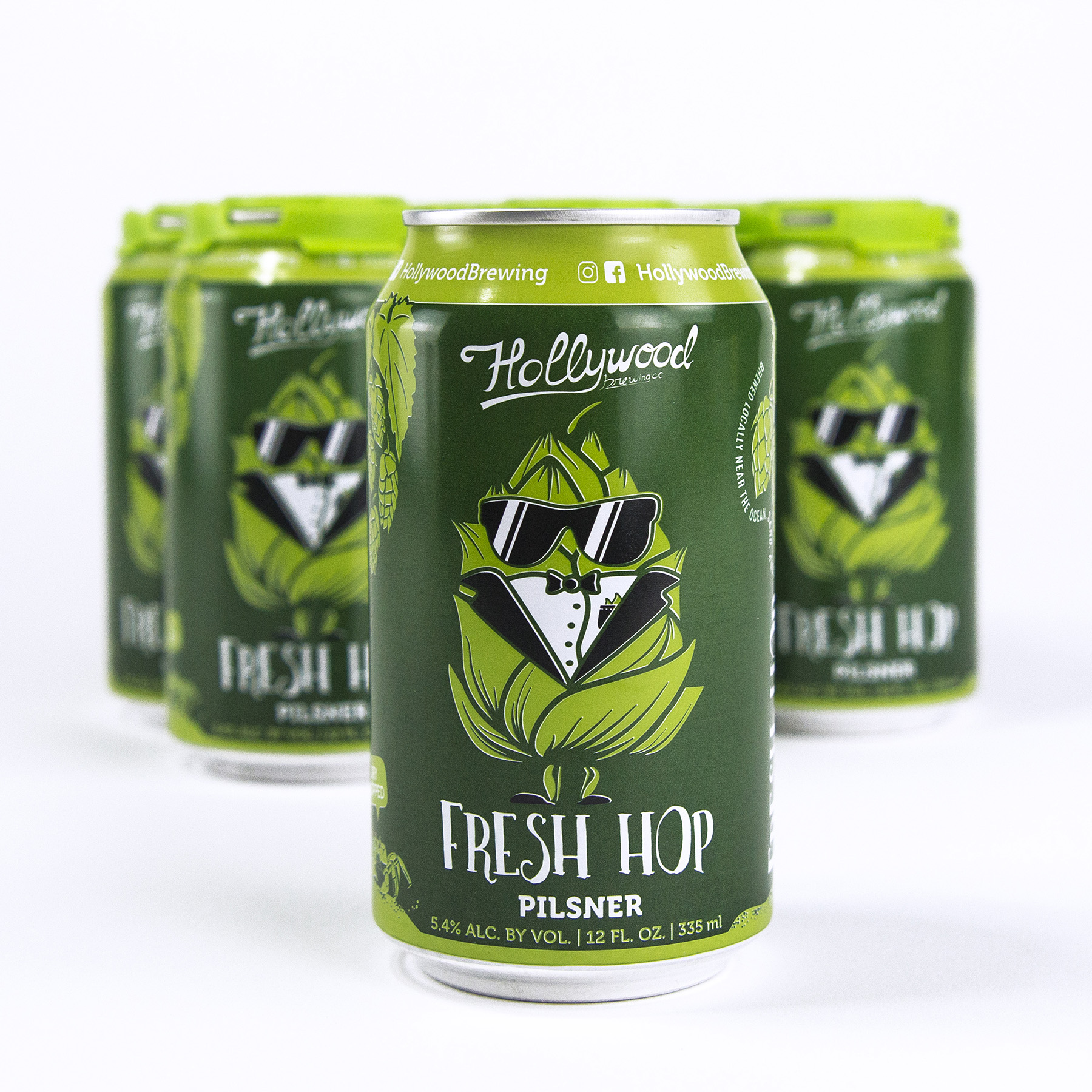 Fresh Hop Pilsner  Package & Draft