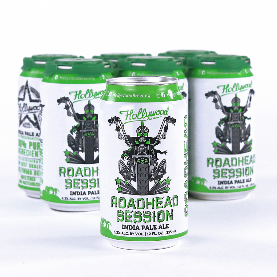 RoadHead IPA  Package & Draft