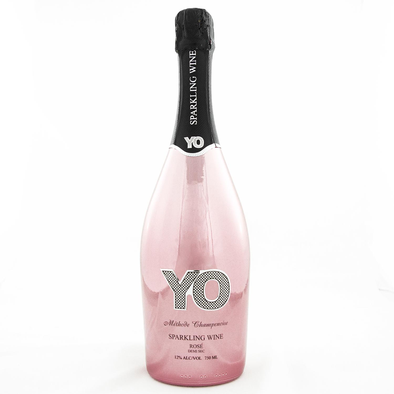 YO Sparkling Wine - Rose