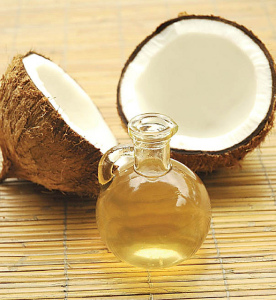 Coconut oil can be eaten raw or used in cooking