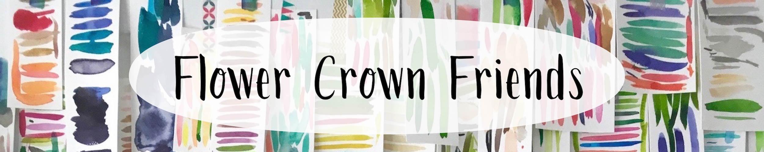 Flower Crown Friends - Watercolor Animals with Flower Crown Paintings