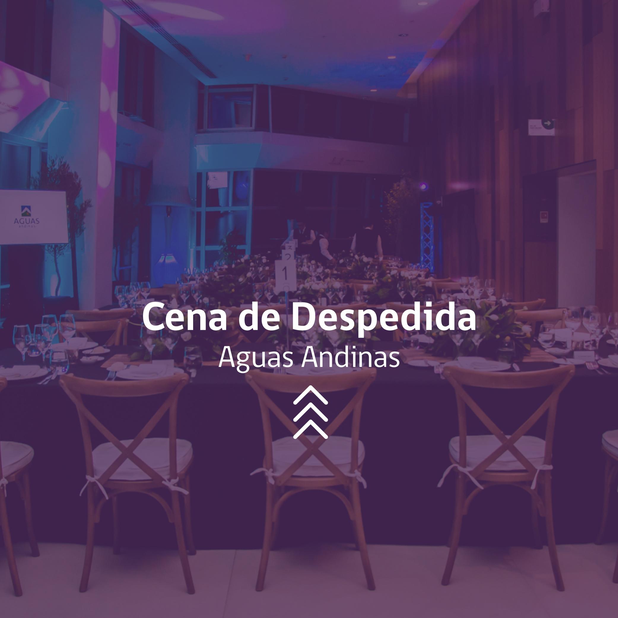 Cena de Despedida Aguas Andinas Chile Evento Costanera Center