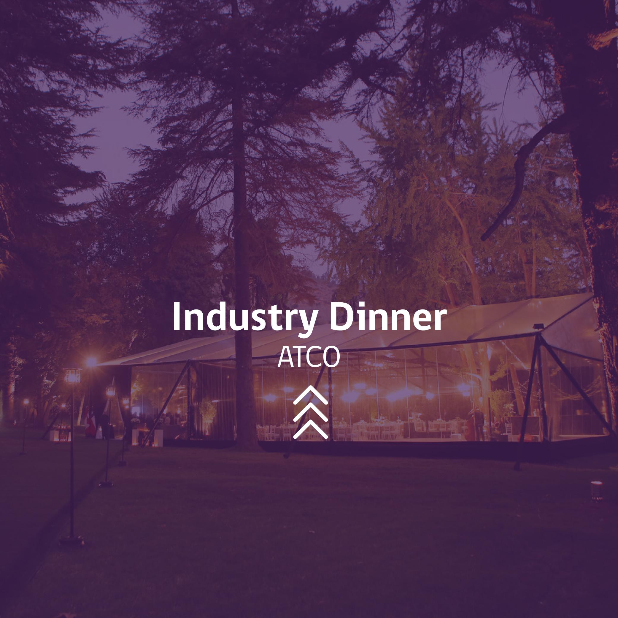 Industry Dinner ATCO Chile Evento CProducciones