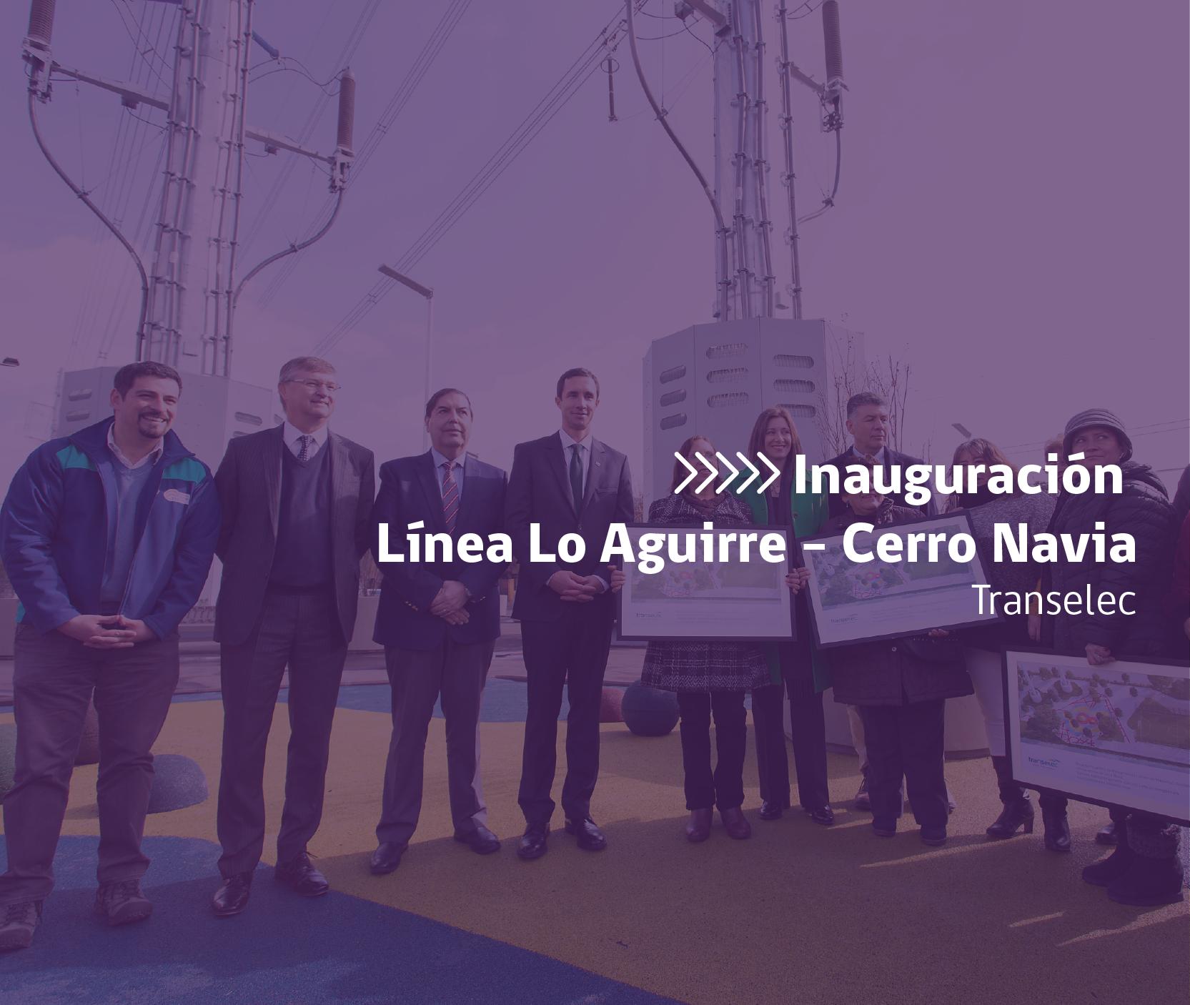 Inauguración de Línea Lo Aguirre - Cerro Navia organizado por Transelec y producido por CProducciones en Cerro Navia