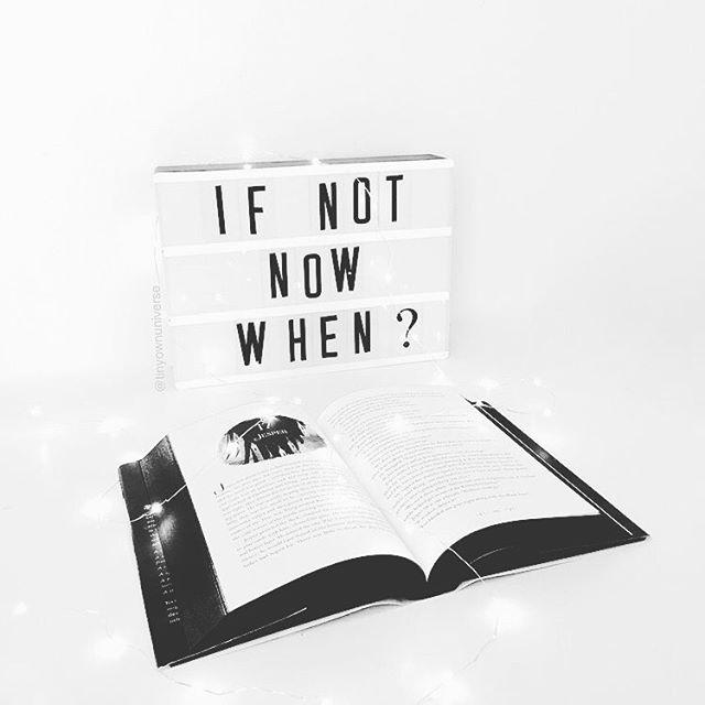 If not now, when?  05.03.18. ⠀⠀⠀⠀⠀⠀⠀⠀⠀ . . . . . . . . . . . . ⠀⠀⠀⠀⠀⠀⠀⠀⠀ #artstudio #lifeofanartist #calledtobecreative #thenativecreative #creativelife #creativelifehappylife #creatives #lightbox #creativityfound #creativepreneur #quote #qotd #cinema  #words #typography #quoteoftheday #inspire #inspiring #motivation #happiness #quotestoliveby #quotesdaily #quotesoftheday #instaquote #quotestagram #dailyquotes #wordsofwisdom #lifelessons #lifequotes #positivequotes