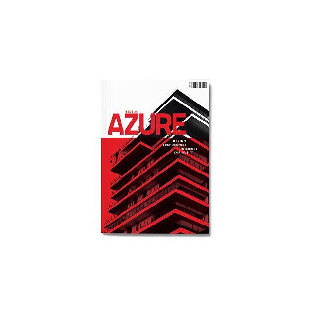 Azure. Architecture Magazine Redesign.  Second Year | Graphic Design 05.09.18. ⠀⠀⠀⠀⠀⠀⠀⠀⠀ . . . . . . . . . . #artstudio #lifeofanartist #calledtobecreative #thenativecreative #creativelife #creativelifehappylife #creatives #editorial #creativityfound #creativepreneur #redesign #magazine #graphicdesign #architects  #typography #editorialdesign  #inspire #mag #motivation #design #studentwork #design #odiledecq  #designinspiration #college #graphicdesigner #graphicdesignstudent #layoutdesign  #magazinecover  #red