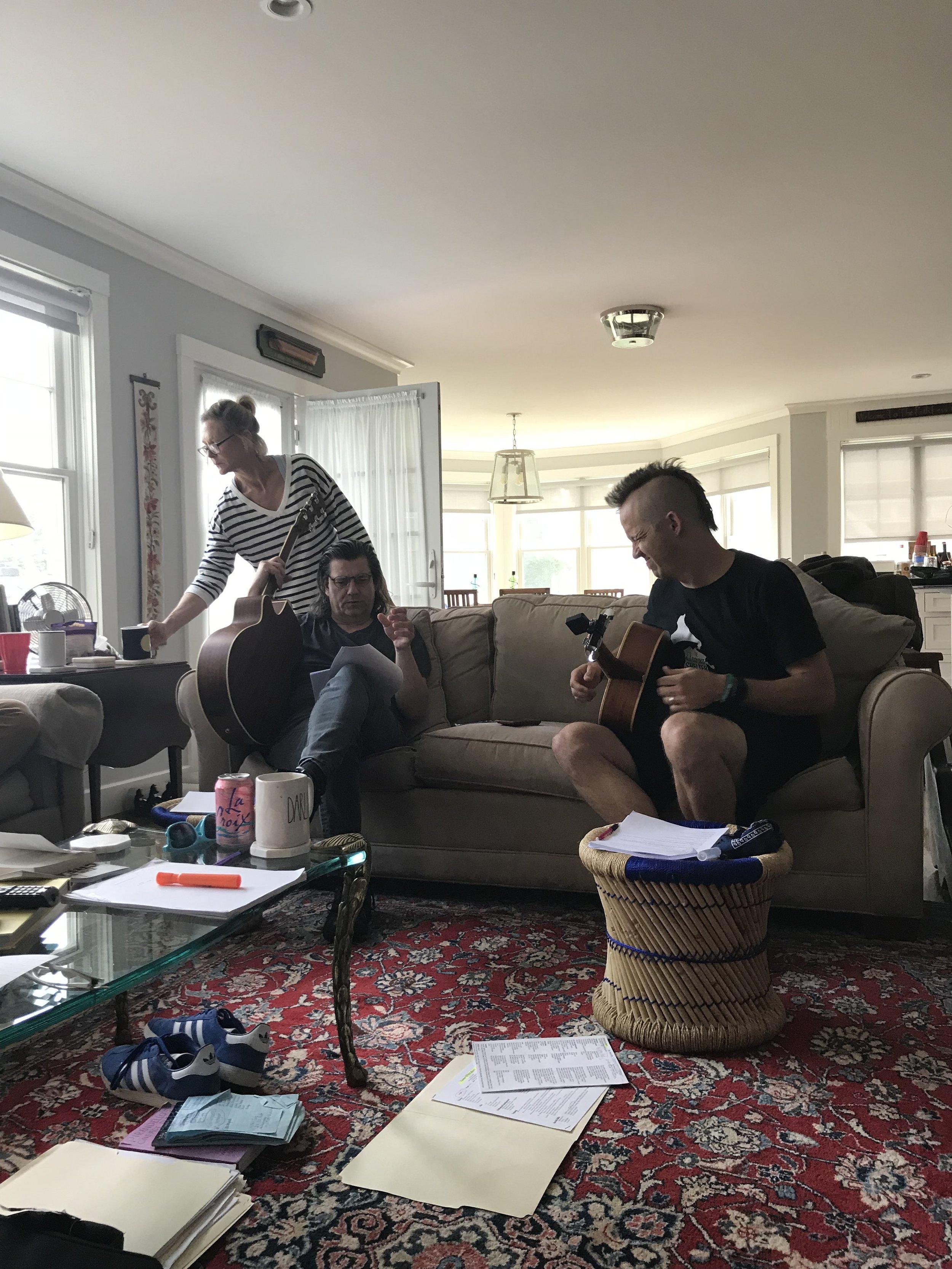 Raison d'Être: An Evening of Pirandello :   Composing Session with Chris Tench and Brett R Stewart