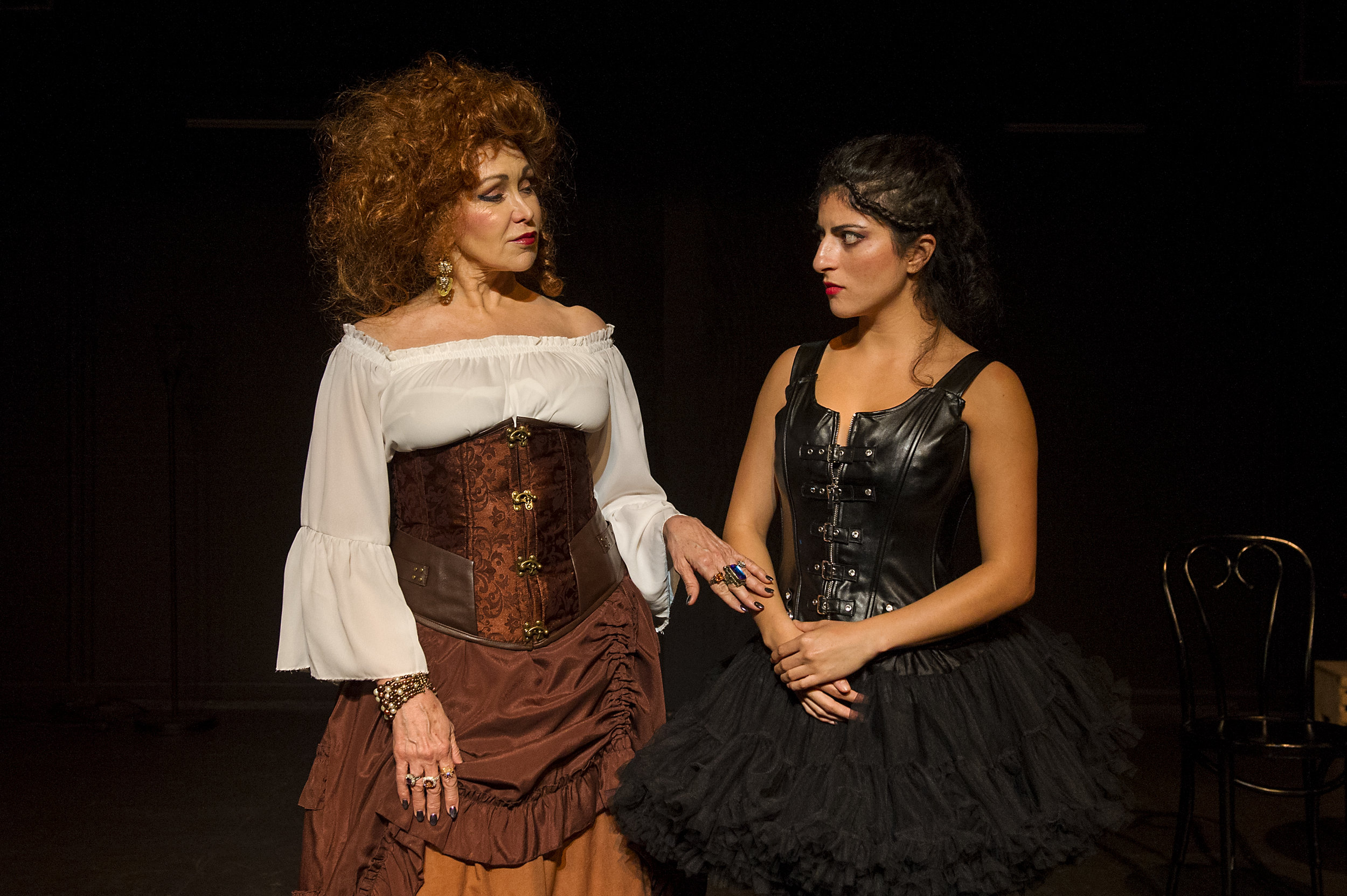 Melissa Eddy Quilty* (Madama Pace) and Lucie Allouche (The StepDaughter)